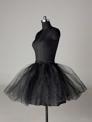 Tyll Nettoting Ball-Gown 2 Tier Korta Length Special Occasion Petticoat