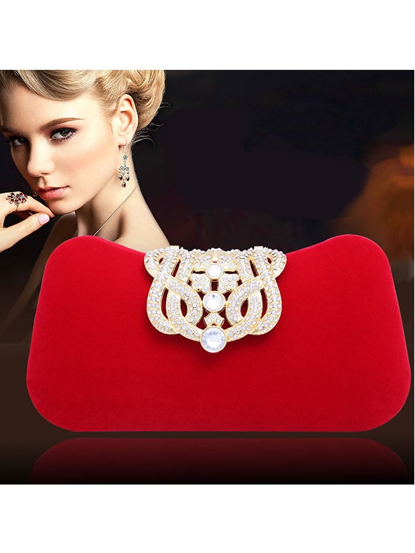 Elegant Rhen Sten Pillow Party/Evening Bag